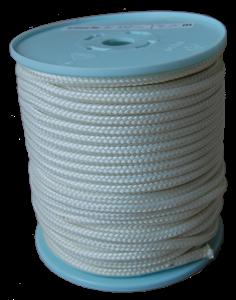 K800 Bábu kötél 6mm fehér 50 méter / tekercs képe