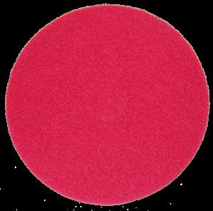 Tekepálya tisztítókorong 20 mm, német, piros, közepes képe