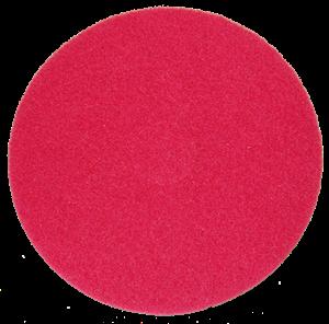 Tekepálya tisztítókorong 10 mm, német, piros, közepes képe